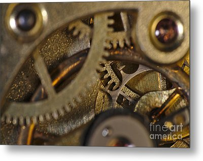 Tic Tac Wheels Metal Print