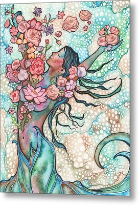 Tidal Bloom Metal Print by Tamara Phillips