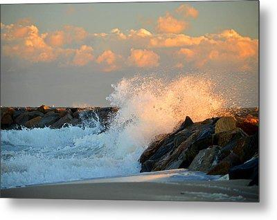 Tidal Energy - Cape Cod Bay Metal Print by Dianne Cowen
