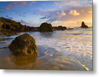 Tidal Flow Metal Print by Mike  Dawson