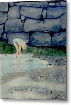 Tidal Pool Treasures Metal Print by Anthony Ross