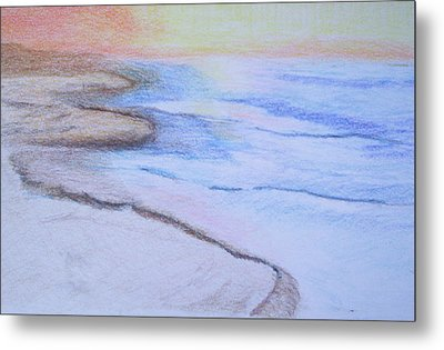 Tide Is Out Metal Print by Suzanne Udell Levinger