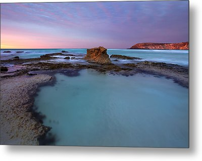 Tidepool Dawn Metal Print