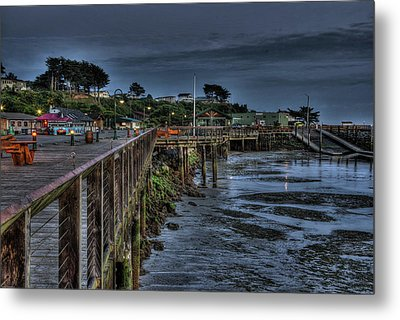 Tides Out In Bandon  Metal Print by Thom Zehrfeld