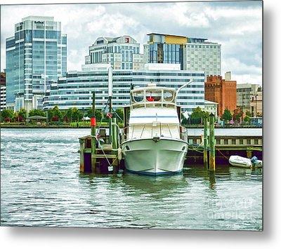 Tidewater Yacht Marina 18 Metal Print
