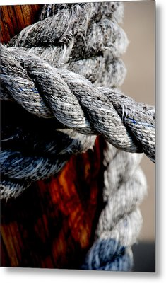 Metal Print featuring the photograph Tied Together by Susanne Van Hulst