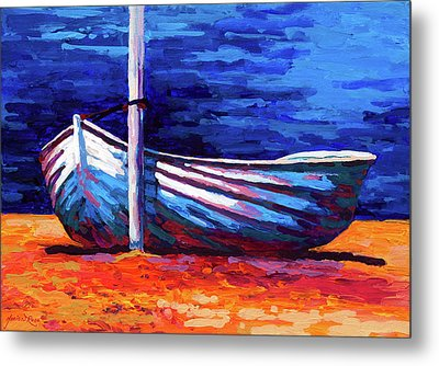 Tied Up Metal Print by Marion Rose