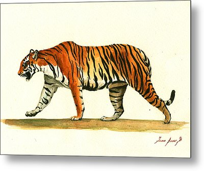 Tiger Animal  Metal Print