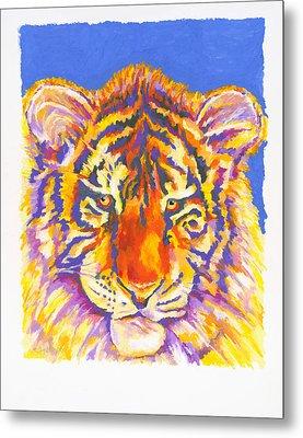 Tiger Metal Print by Stephen Anderson