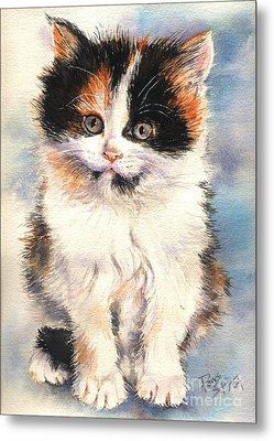 Tigger Metal Print by Sandra Phryce-Jones