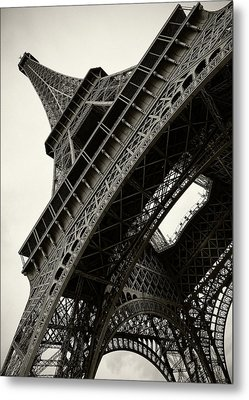 Metal Print featuring the photograph Tilted Eiffel by Stefan Nielsen