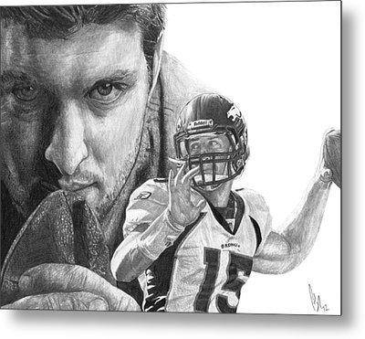 Tim Tebow Metal Print