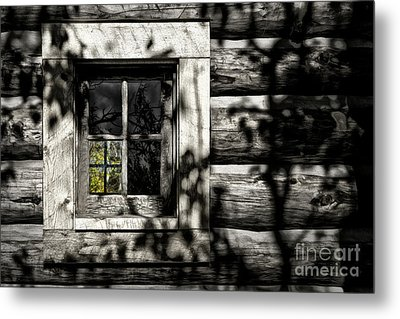 Metal Print featuring the photograph Timber Hand-crafted by Brad Allen Fine Art