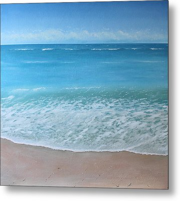 Time And Tide Metal Print by Paul Newcastle