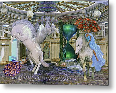 Time Escapes Me Metal Print by Betsy Knapp