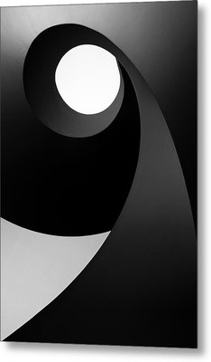 Time For Light Metal Print by Paulo Abrantes