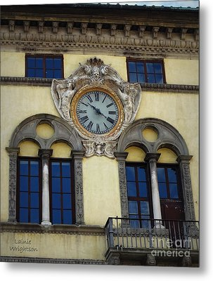 Time In Lucca Metal Print