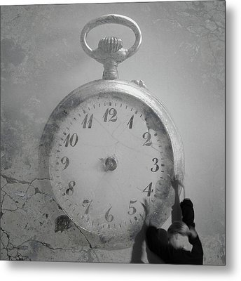 Time Is On My Side Metal Print by Martina Rall