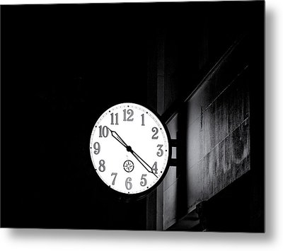 Time Is Slipping Away Metal Print