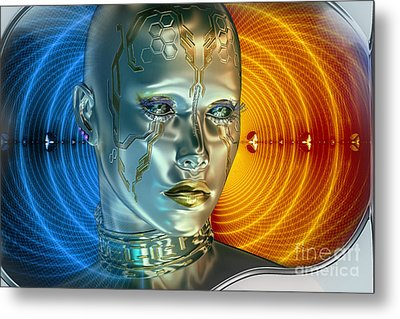 Time Less Time Metal Print by Shadowlea Is