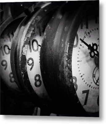 Time Multiplies Metal Print