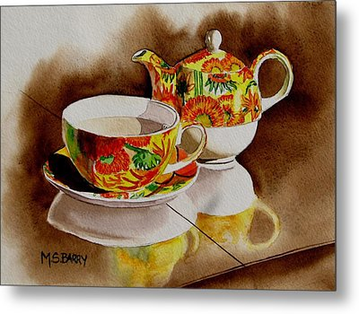Time Out Metal Print by Maria Barry
