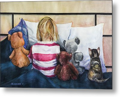 Time Out With My Friends Metal Print