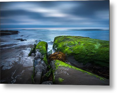 Time Passes Metal Print by Peter Tellone