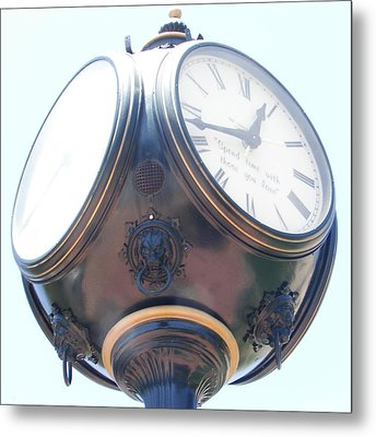 Time Piece Metal Print by Dana Patterson
