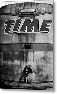 Metal Print featuring the photograph Time by Robert Harshman