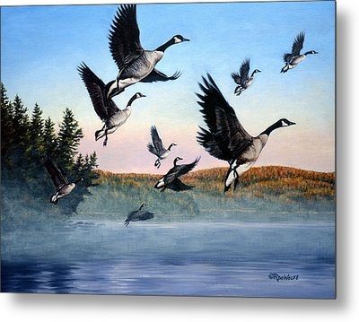 Time To Go Metal Print by Richard De Wolfe