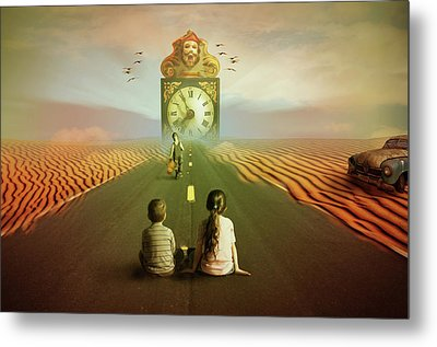 Time To Grow Up Metal Print by Nathan Wright