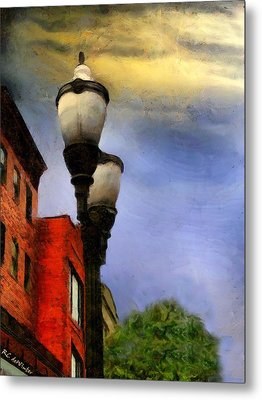 Time To Light The Lamps Metal Print by RC deWinter