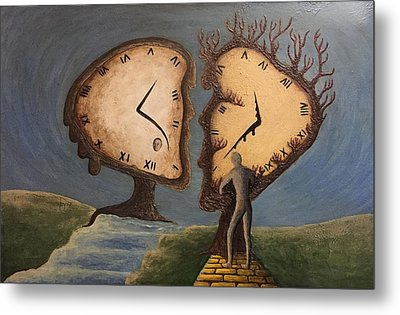 Time Travel 2016 Metal Print