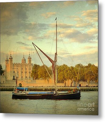 Metal Print featuring the photograph Time Travel by LemonArt Photography