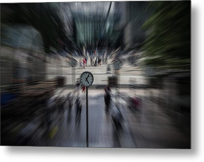 Time Traveller Metal Print by Martin Newman