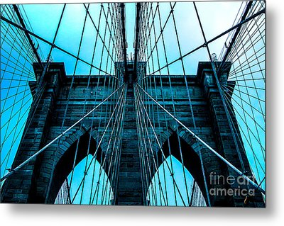 Timeless Arches Metal Print