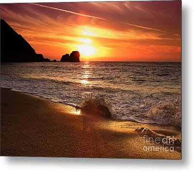 Timeless Moments Metal Print by Scott Cameron