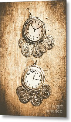 Timepieces From Bygone Fashion Metal Print by Jorgo Photography - Wall Art Gallery