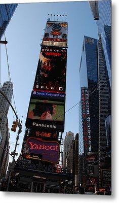 Times Square Metal Print by Rob Hans