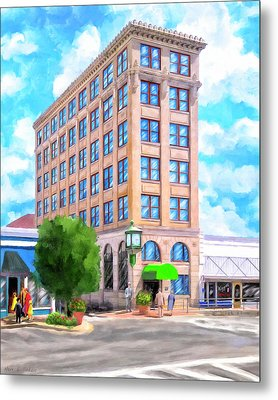 Timmerman Building - Andalusia - First National Bank Metal Print
