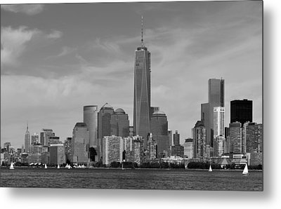Tip Of Manhattan Metal Print by Yue Wang