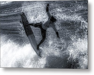 Tip Of The Froth Metal Print by Thomas Gartner