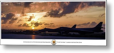 Tip Of The Spear Metal Print