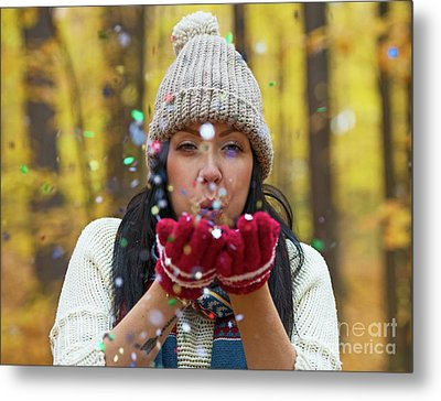 Metal Print featuring the photograph Tis The Season.. by Nina Stavlund