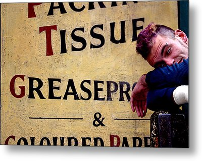 Tissued Thugulike Metal Print by Jez C Self