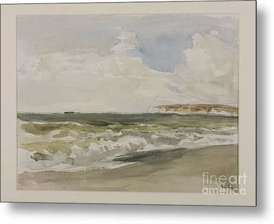 Title Cromer Metal Print by MotionAge Designs