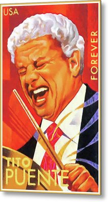 Tito Puente Metal Print by Lanjee Chee
