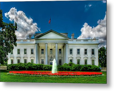 Tlhe White House Metal Print