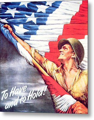 To Have And To Hold Metal Print